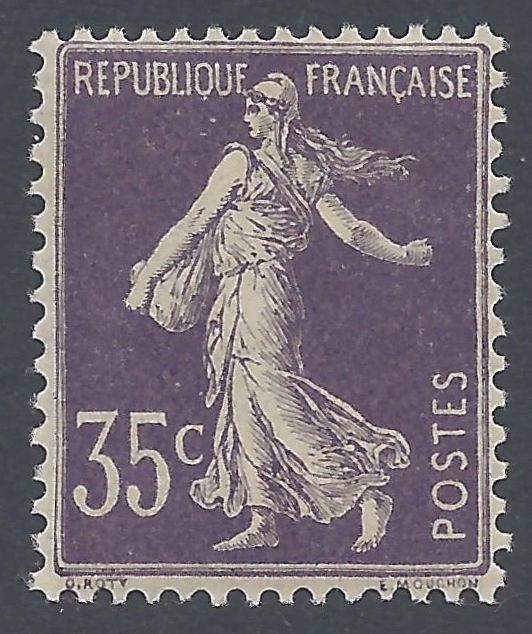 France 1906  - Type Semeuse - Yvert 136