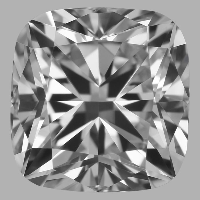 0.90Carat Cushion  cut Diamond, E VS1 , Cert: GIA -Serial-JD1732