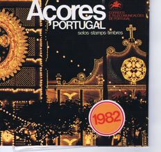 Madeira and Açores 1982/1992 - lot of 22 year books.
