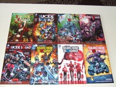 DC Comics - Collection Of Trade Paperbacks - Suicide Squad 1-5 + New Suicide Squad 1-3 - 8x SC - 1st Edition - (2012/2015)