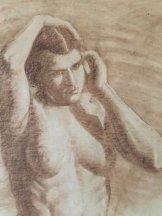 Anonymous - Female Nude - late 19th / early 20th century