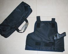 Bulletproof vest, Italian, level 3a, one size, adjustable