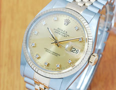 Rolex Diamonds Oyster Perpetual DATEJUST Automatic Men's Watch!