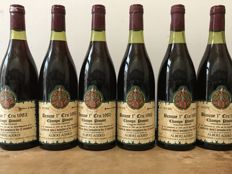 "1982 Beaune 1er cru ""Champs-Pimont""  La Confrérie des Chevaliers du Tastevin , Albert Added  - Total 6 Bottle"