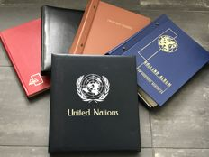 United Nations and Europe 1960/1980 - box with 5 albums