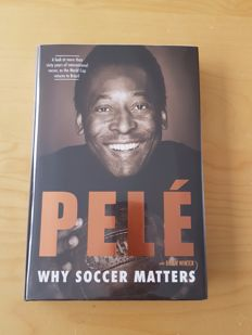 Pele - Why Soccer Matters - First Edition 292 pages hand signed book + photoproof + COA
