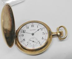 waltham - Pocket watch gold plated - Year 1900 approx.
