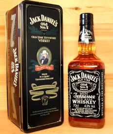 Jack Daniels  Old Time Tennesse Whisky Old No. 7 Brand / 70cl / 43%vol, original bottling from 1990s