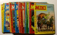 Capitan Miki - 21x albums, issues nos. 106/126 (1964)