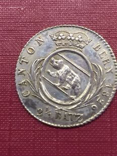 Switzerland, Bern commune - Two and a half Batzen (2 1/2 Batzens) 1826 - silver