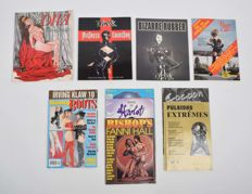 BDSM; Lot with 11 erotic magazines - ca 1984/1995