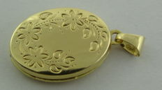 14 kt Gold Medallion - Length: 23.9 mm