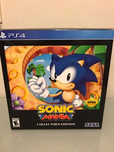 Ps4 Rare Sega Mania collectors edition