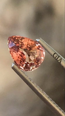 Sapphire-pink- 1.20CT no reserve