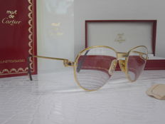 Cartier glasses - with 2 sapphires