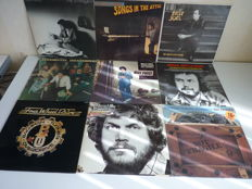 """Lot with 9 Rock albums: B.T.O : """"Not Fragile"""", """"Head On"""", Four Wheel Drive"""" , Billy Joel """"52nd Street"""", """"Turnstiles"""", """"Songs in the Attic"""", """"An innocent Man """", """"the Stranger"""", the Best of Phillip Goodhand Tait"""