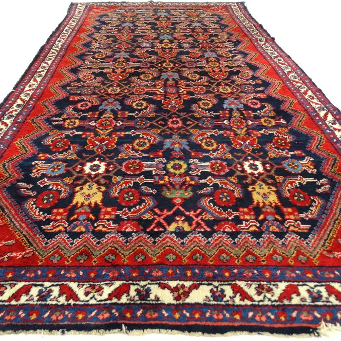 "Hamadan - 275 x 140 cm. – ""Persian carpet in beautiful condition"" - With certificate."