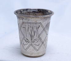 Vodka Cup - 84 silver - City of Moscow Landscape - Russia - 1896-1908