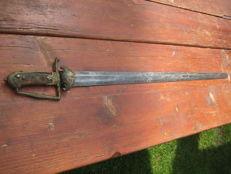 German hunting sword, rare pieces from the 18th  century