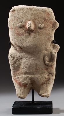 Pre-Columbian Chancay figure of a woman - with TL authenticity test - 19 cm