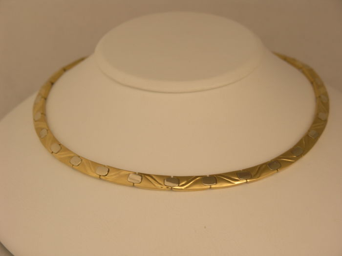Gold necklace 19,2k yellow gold - Lenght: 45 cm