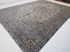Exclusive and beautiful Kashan/Iran 396 x 282 cm TOP CONDITION TOP QUALITY end of the 20th century Expertly woven ***newly ecologically cleaned***