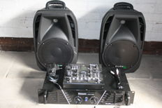 Sound/DJ set 2x 150W
