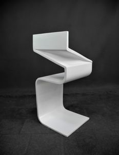Unknown designer - art piece or prototype of an unknown chair