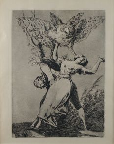 (After) Francisco Goya (1746-1828 ) - Chalcography - around 1880