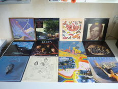 Lot with 12 major, highly rated Rock albums from the 70's: Little Feat, Fleetwood Mac, Talk Talk, Leonard Cohen, Queen, the Rolling Stones, Paul McCartney, Jackson Browne, Supertramp, the Moody blues, the Eagles,the Who, many Rock styles present