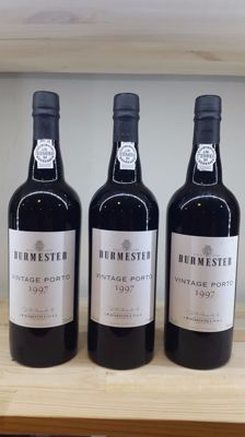 1997 Vintage Port Burmester - 3 bottles