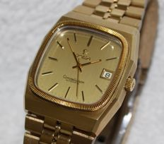 Omega Constellation 18k Gold Bezel Automatic New Old Stock - Men's Watch - 1970's