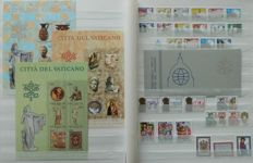 Vatican City 1954/2000 - Collection in stockbook