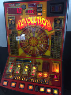 Revolution - Euro slot machine - 20th century