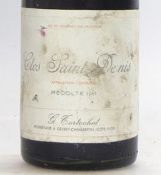 1961 Clos St Denis Grand Cru Domaine Tortochot x 1 bottle