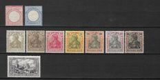 German Empire 1872/1944 - Selection between Michel 25/904