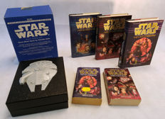 Star Wars Timothy Zahn books and limited edition Audio Cassette box. (1994)
