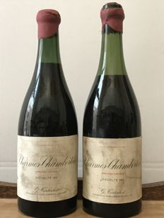 1964 Charmes Chambertin Grand Cru, Guy Tortochot (  Bottling By Buyer /  Mise en bouteilles par l'acheteur ) - Total 2 Bottles