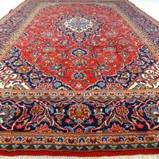 """Keshan - 372 x 246 cm - """"XL-Persian carpet - Eye-catcher in gorgeous condition"""" - With certificate"""