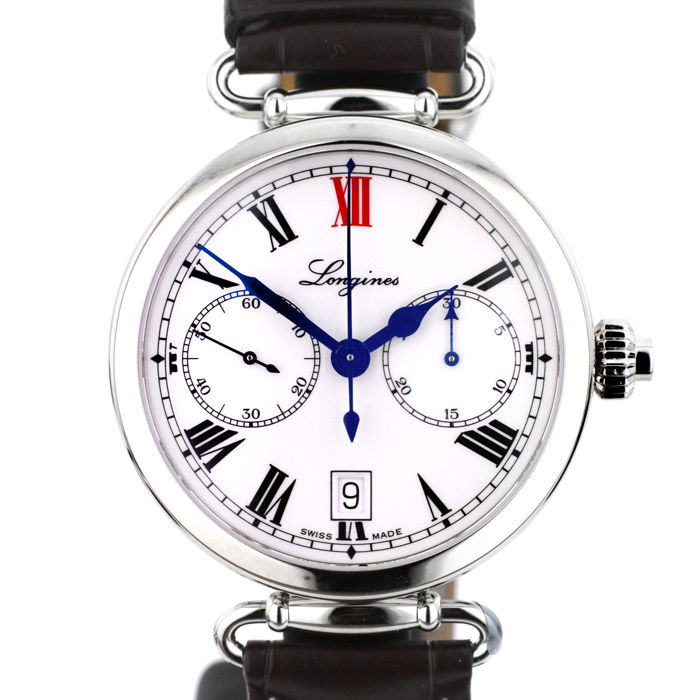 Longines – Longines Heritage Column-Wheel Single Push-Piece Chrono – MEN'S WATCH – 2017