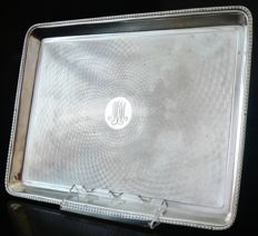 Silver Rectangular Tray, London 1916, Charles Fox & Co Ltd (Charles James Fox)