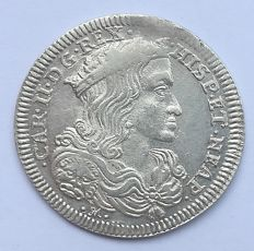 Kingdom of Naples – Tarì 1695, Carlo II – Silver