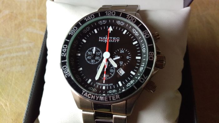 Nautec No Limit - Mistral2 - Men's watch - Quartz Chronograph - Chronometer *never worn*