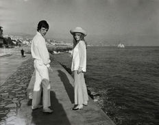 Unknown/Dufoto Agenzia - Mick Jagger and Marianne Faithfull - San Remo - Italy, 1967