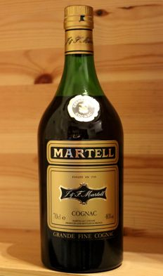 J&F. Martell Grande Fine Cognac, 70cl, 40% Alc/vol. - Bottled early 1980s