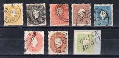 Lombardy-Venetia 1858-1862 - small selection of issues