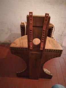 BDSM; chair for sexual tortures - 21st century