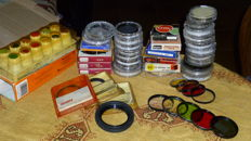 Lot of FILTERS with special effects - 45 items in total