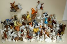 Collection of 158 rabbits