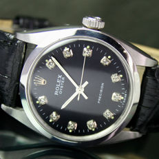 1962s Rolex Oyster Precision Steel Watch Ref 6427